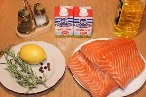 Продукты для запекания рыбы в духовке