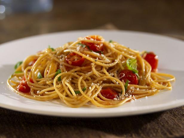 Вкусные спагетти