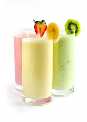 Рецепт молочного коктейля в блендере