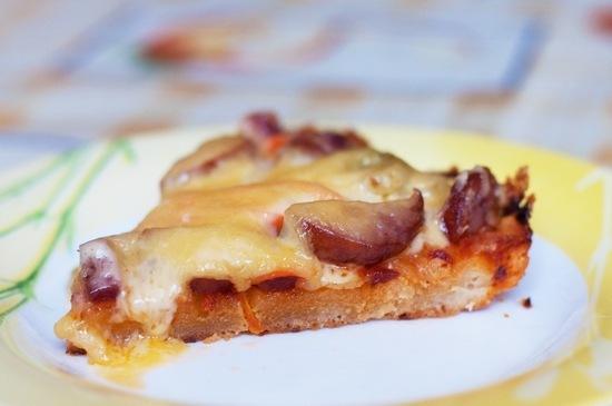 пицца быстрого приготовления