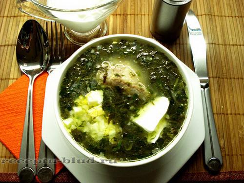 зеленый борщ со щавелем и яйцом в мультиварке рецепты
