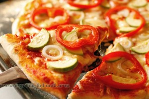 Тесто для домашней пиццы