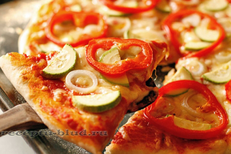 классический рецепт теста для итальянской пиццы