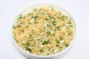 Начинка на сырные лепешки