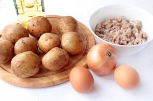 Продукты для драников с мясом