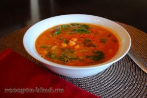 суп без мяса