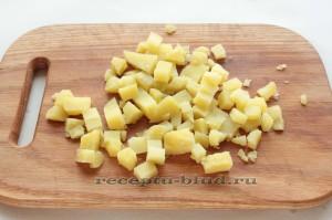 Картофель для салата из сельди