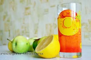 Напиток из яблок