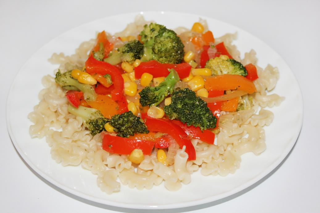 Добавьте овощи