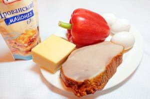 Ингредиенты для мужского салата