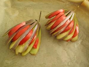 Баклажаны с помидором