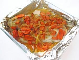 Запекайте рыбу в духовке