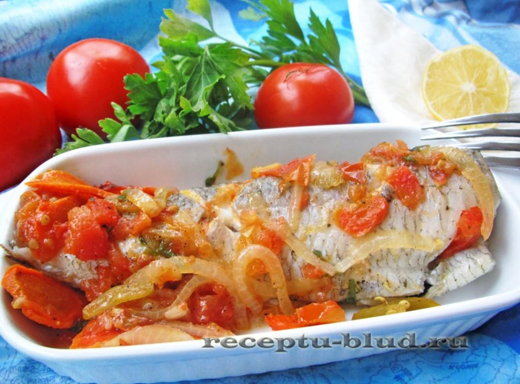 Рыба в кисло-сладком соусе из овощей