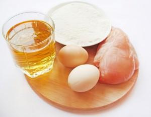 Ингредиенты для приготовления отбивных