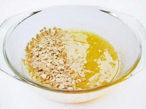 Овсянка с маслом и медом