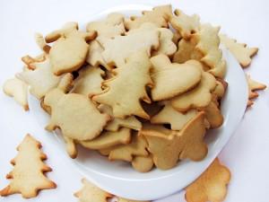 Новогоднее печенье из медового теста