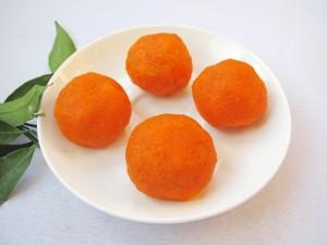 Шарики в моркови