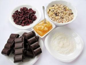Ингредиенты на конфеты из мюсли