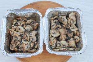 Запеченные грибы