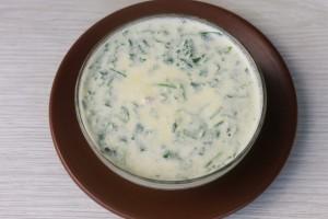 Домашний сыр с ветчиной