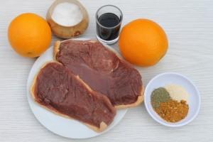 Ингредиенты для приготолвения утки гриль