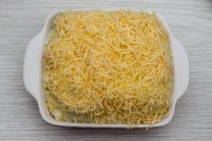 Посыпьте сыром