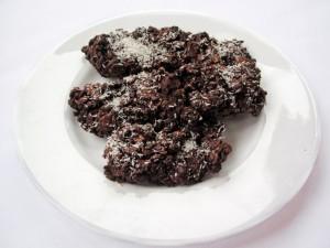 Шоколадные конфеты с мюсли