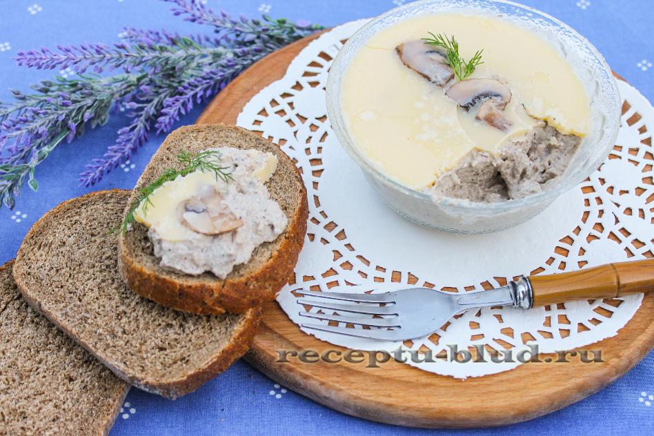 Домашний грибной паштет