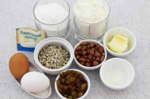 ингредиенты для кантучини