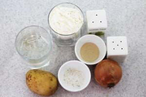 Ингредиенты для жареных пирожков