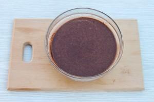 Шоколадное бисквитное тесто
