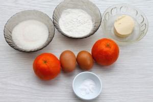 Продукты на простые кексы