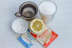 Ингредиенты для домашнего зефира