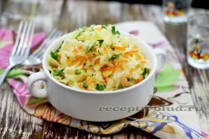 Квашеная капуста - рецепт