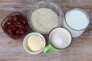 Необходимые продукты для рисовой каши