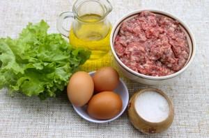 Ингредиенты для приготовления бризоля