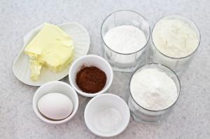 """необходимые ингредиенты для печенья """"грибочки"""""""