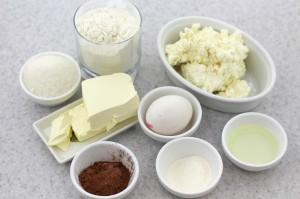 Ингредиенты для печенья творожного