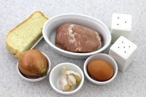 Необходимые продукты для приготовления котлет