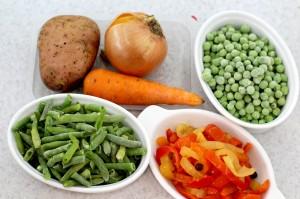 Необходимые ингредиенты для зеленого супа