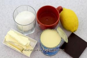 Необходимые ингредиенты для приготовления безе