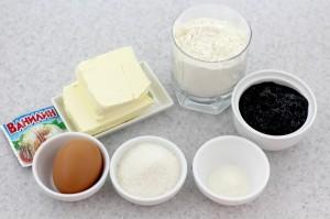 Ингредиенты для пирога с джемом