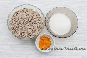 Ингредиенты для приготовления козинак