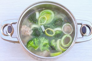 Брокколи в супе
