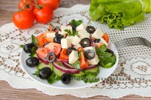 "Салат ""Греческий"" с брынзой"
