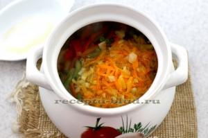 Зажарка в супе