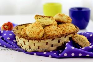 Кокосовое печенье - рецепт приготовления