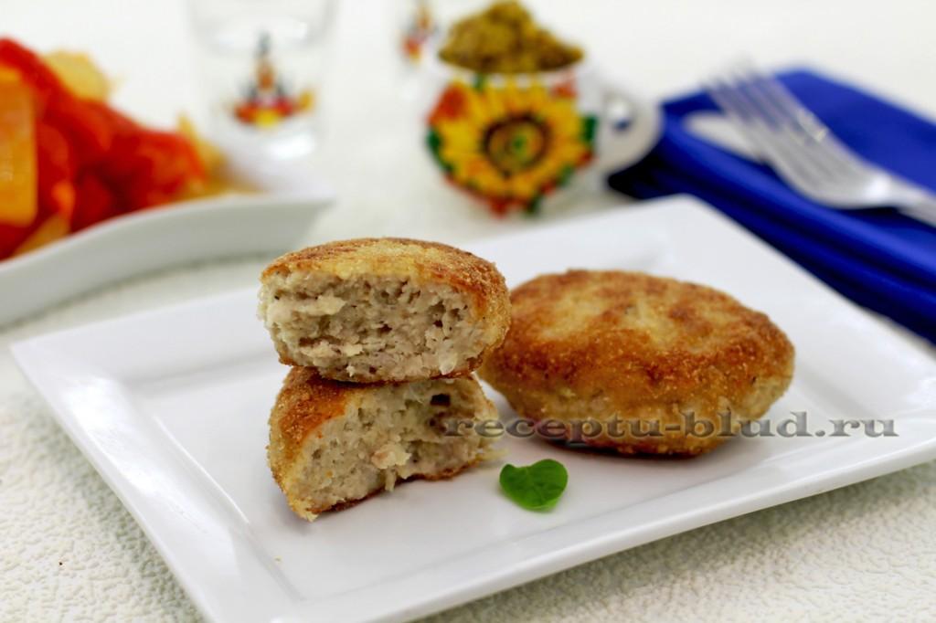 Рецепт: котлеты из свинины домашние