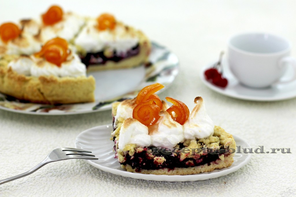 Пирог с джемом