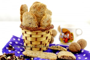 Домашнее ореховое печенье - рецепт приготовления